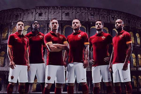 AS Roma Kit 14-15