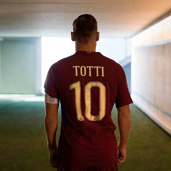 AS Roma Derby Kit Totti
