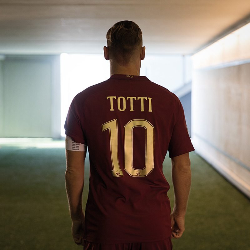 AS Roma Derby Kit Totti