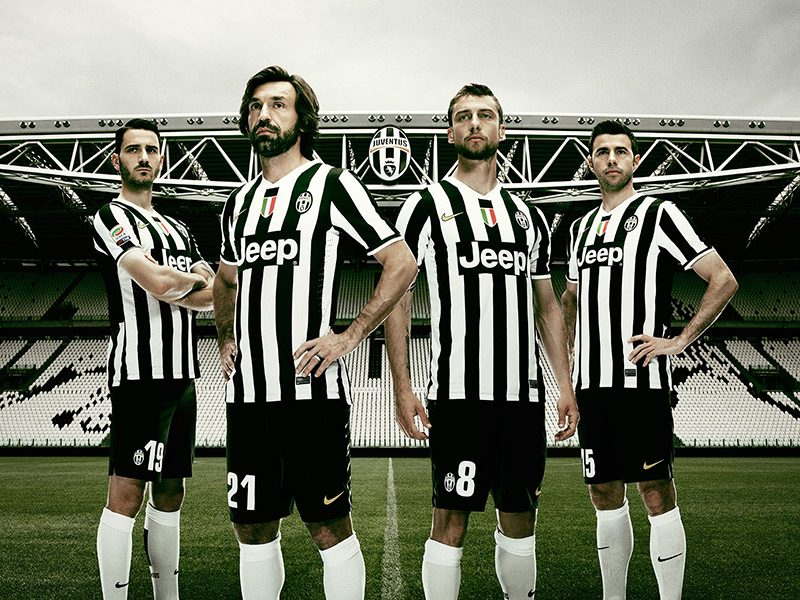 Juventus Club Kit Launch '13-14